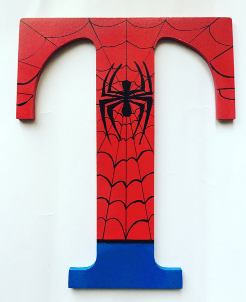 Spider man T - Choose any Letter
