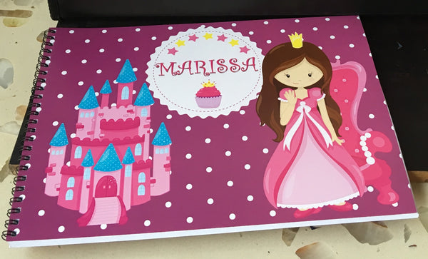 Kid's Sketch book Art Book - Princess (A4) - LoveThisStuff.com