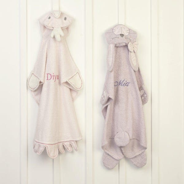 Bunny Animal Personalised Baby Wrap