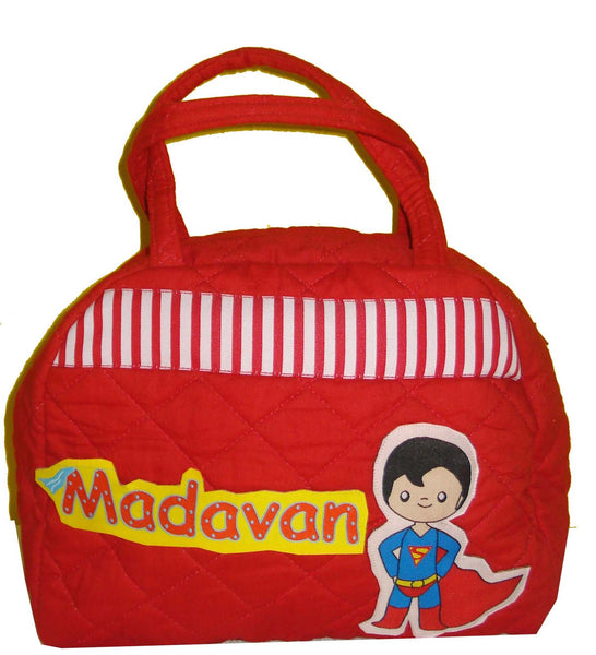 Super Hero Theme Lunch Bag