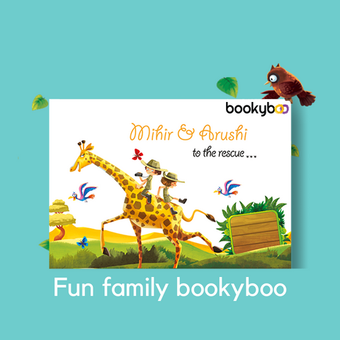 Kid's Activity Game Fun Family Personalised book - LoveThisStuff.com