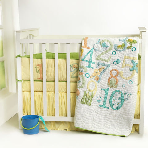 1..2..3..Splash Personalised Baby Quilt