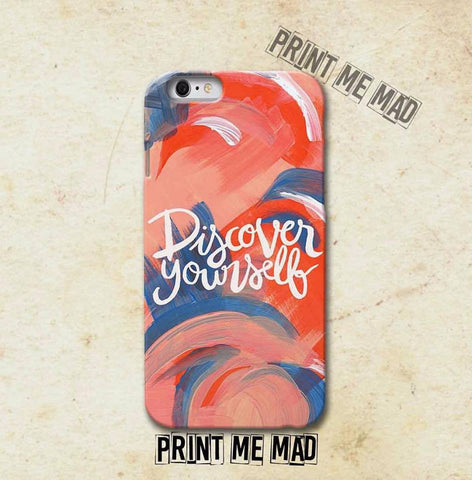 Phone cover Discover Yourself Phone Cover - LoveThisStuff.com