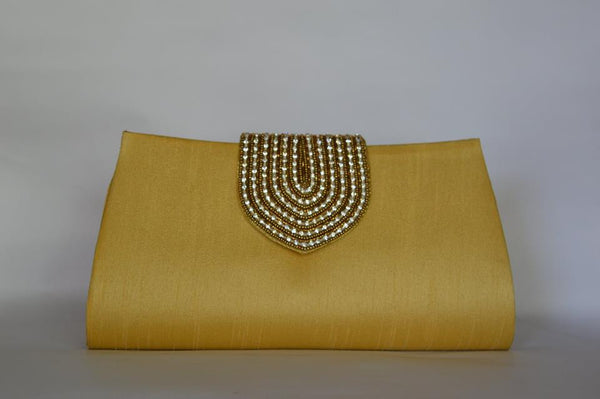 Women's Clutch Bag Clutch - Mustard - LoveThisStuff.com