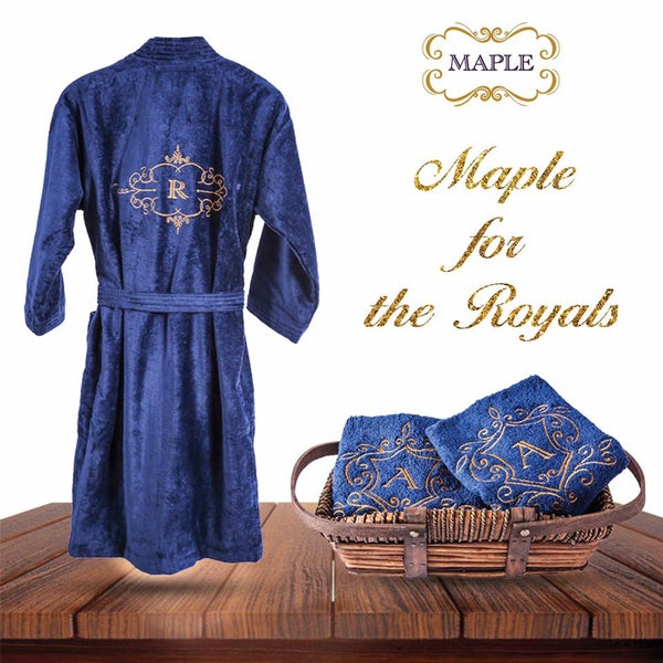 The Royal Crest Bathrobe