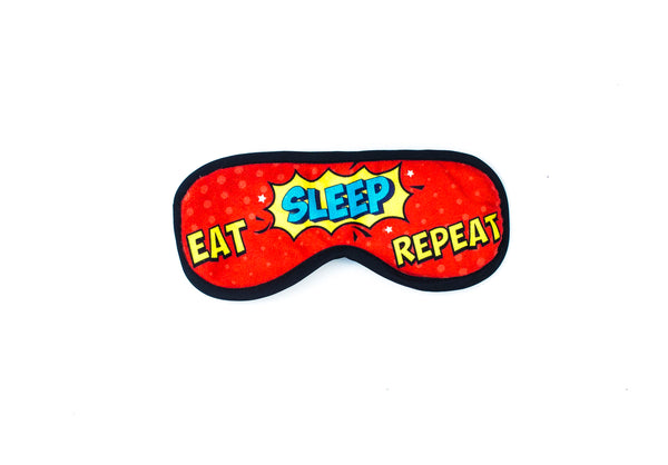 Eat Sleep Repeat Eye Mask