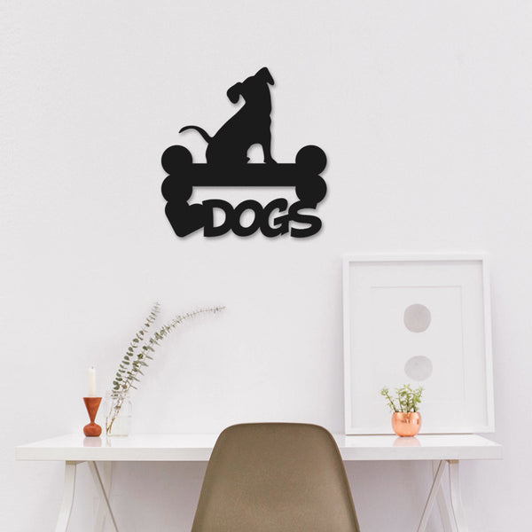 Wall Accent Dog with bone - LoveThisStuff.com