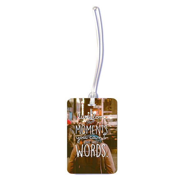 Moments Luggage tag