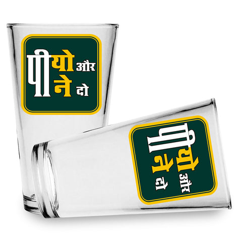 Beer Glass 'Piyo aur Peene Do' Beer Glass - Set of 2 - LoveThisStuff.com