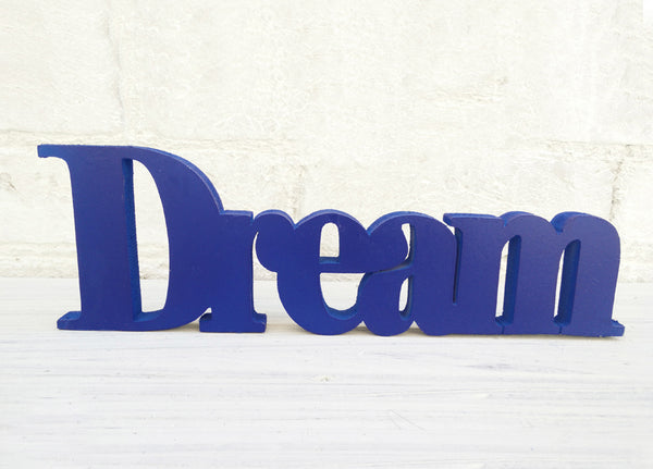 "Decor Piece Customize 25mm thick word 4"" Height - LoveThisStuff.com"