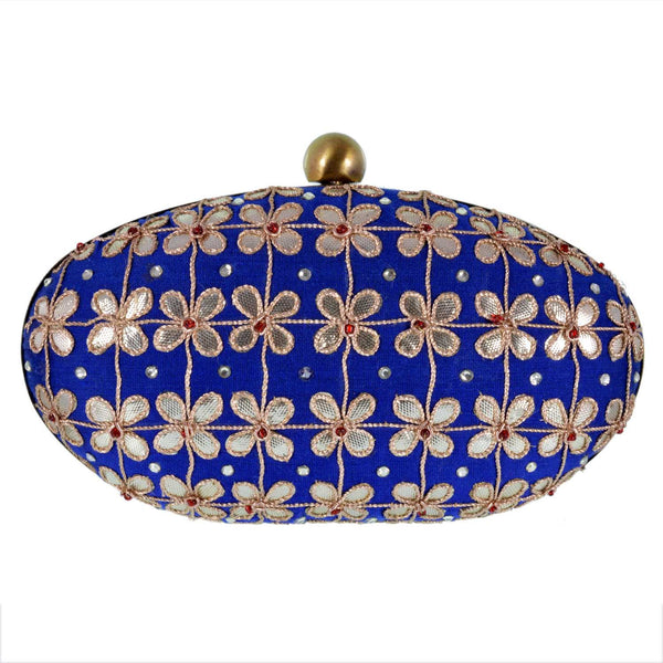 Women's Clutch Bag Blue Topaz Clutch - LoveThisStuff.com