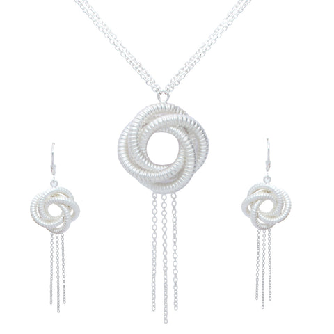Algerian Love Knot Necklace Set