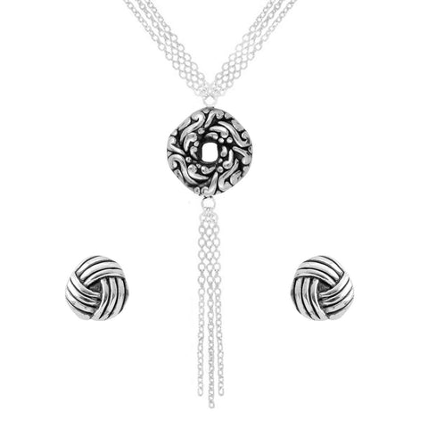 Algerian Love Knot Multi Chain Set