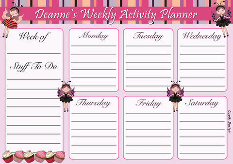 Kid's Activity Planner Angel Activity Planner - AP01 - LoveThisStuff.com