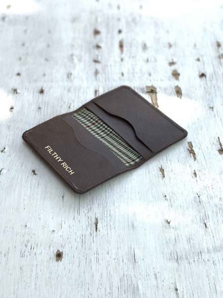 Minimal Wallet-Brown-Personalised