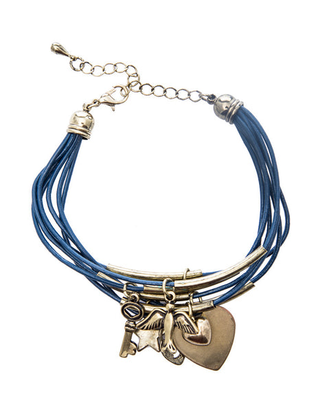Lori Lock and Key Bracelet - LoveThisStuff
