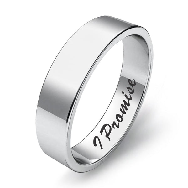 Engraved Band Ring for Gifting