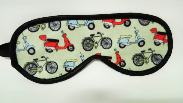 Biker Travel Eye Mask