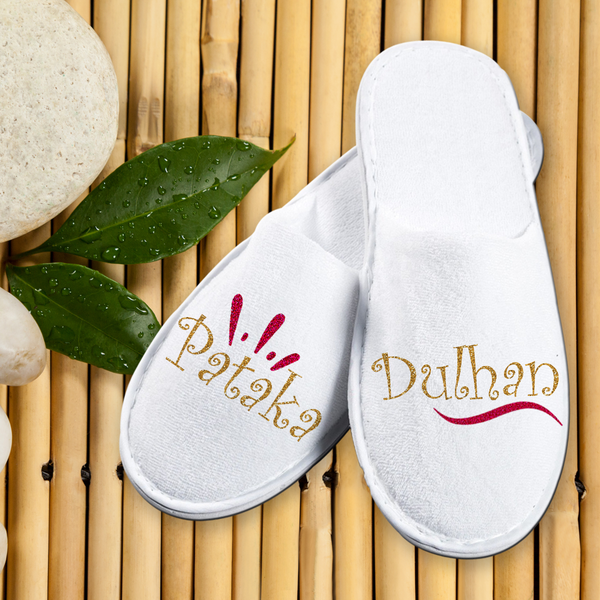 Bathroom Slippers Carpet Slippers- Pataka Dulhan - LoveThisStuff.com
