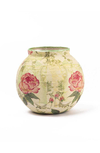 Planter Glory of Rose Threaded Jardiniere - LoveThisStuff.com