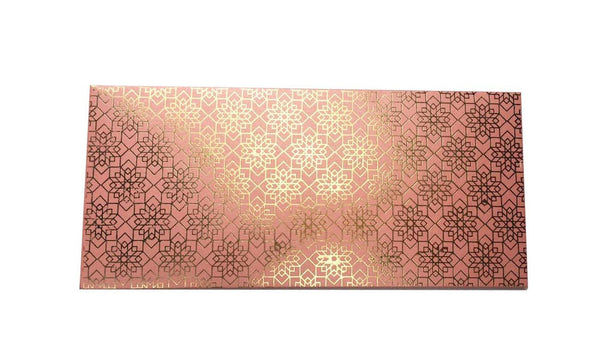 Envelopes Geometrical Design Gold Foiled Money/ Sagan Envelopes- Light Pink - LoveThisStuff.com