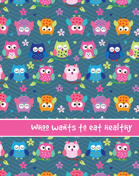 Personalised Owl Folder - FL42 - LoveThisStuff