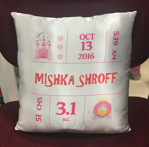 Personalised baby cushion - LoveThisStuff
