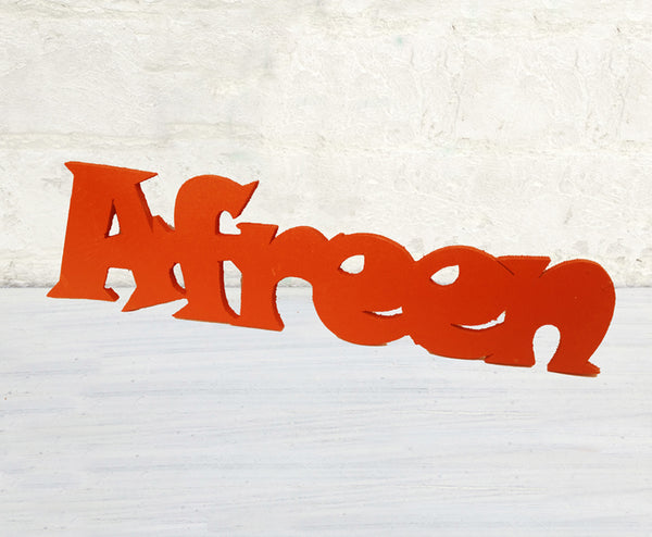 Decor Piece Customize 25mm Thick wood word-3 - LoveThisStuff.com