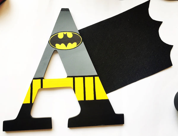 Alphabet Batman Alphabet - Choose any Letter - LoveThisStuff.com