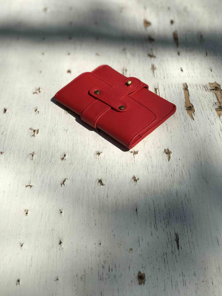 Small Wallet-Red