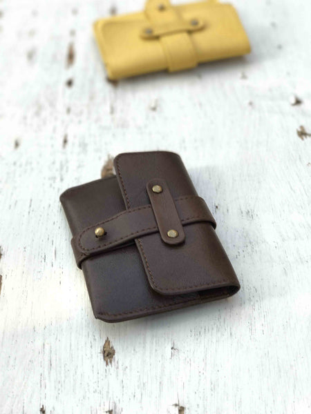 Small Wallet-Brown