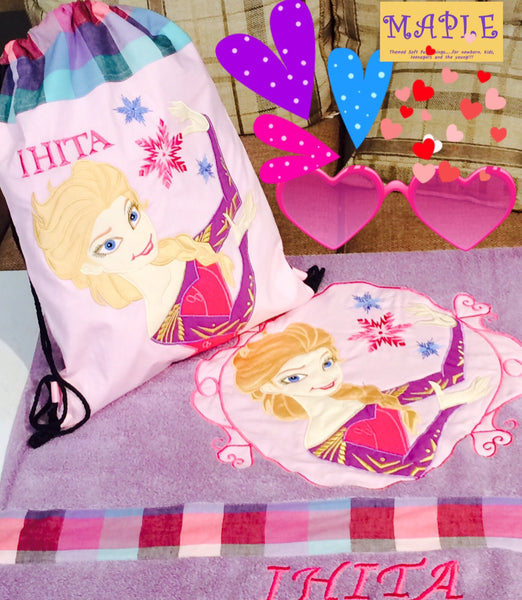 "Kid's Cushion ""Frozen Princess Elsa"" Gift Items - LoveThisStuff.com"