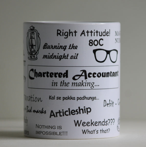 Coffee Mug Chartered Accountant in the making - LoveThisStuff.com