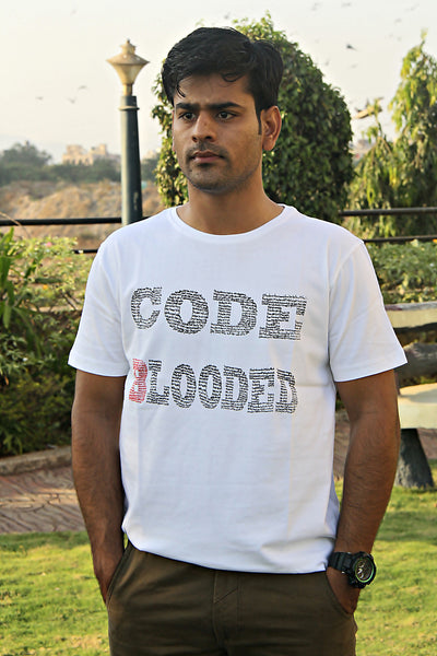 Men's T-Shirt CODE BLOODED - LoveThisStuff.com