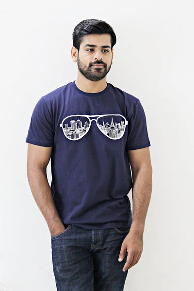 Men's T-Shirt AVIATOR SKYLINE - LoveThisStuff.com