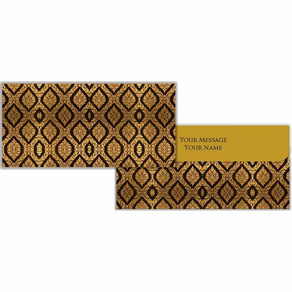 Black & Gold Cash Envelopes