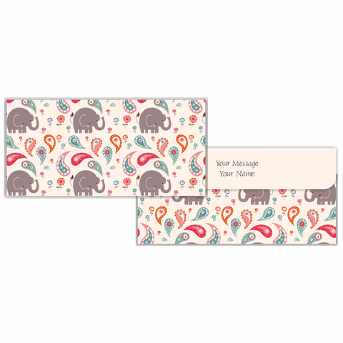 Baby Elephant Cash Envelopes