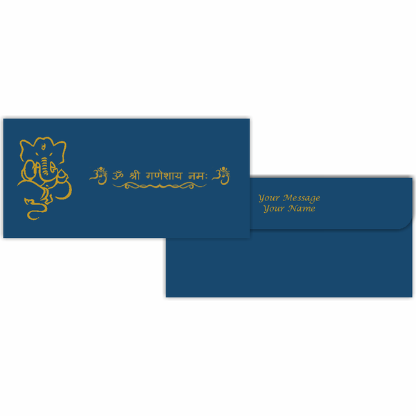 Ganesha Color Series Cash Envelopes