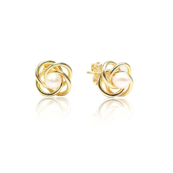 LeCalla Love knot stud Earrings