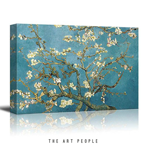 Wall Poster Almond Blossoms by Vincent Van Gogh - LoveThisStuff.com