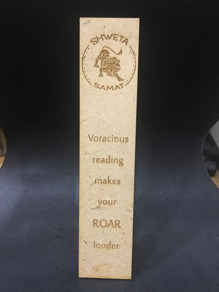 Wooden Bookmarks - Leo