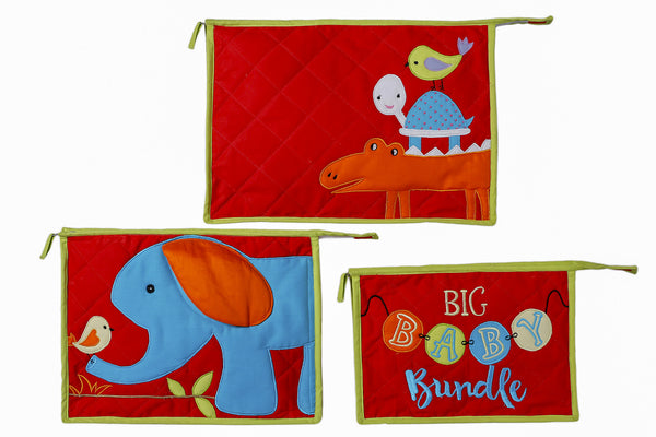 Diaper Bag Animals R my Playmates Pouch Set - LoveThisStuff.com