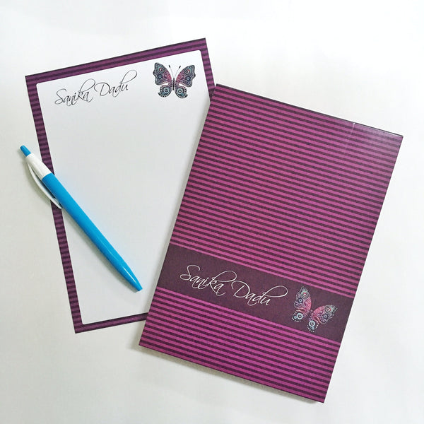Letter Pads - Butterfly - NS36