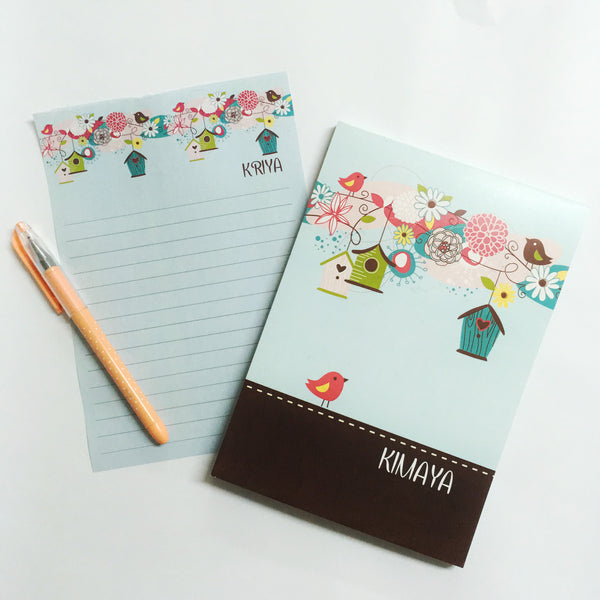 Letter Pads - Bird Cage - NS09