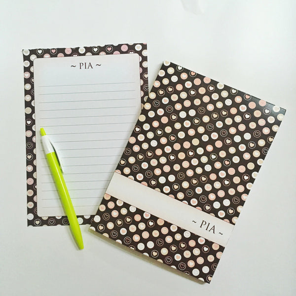 Letter Pads - Hearts  - NS29
