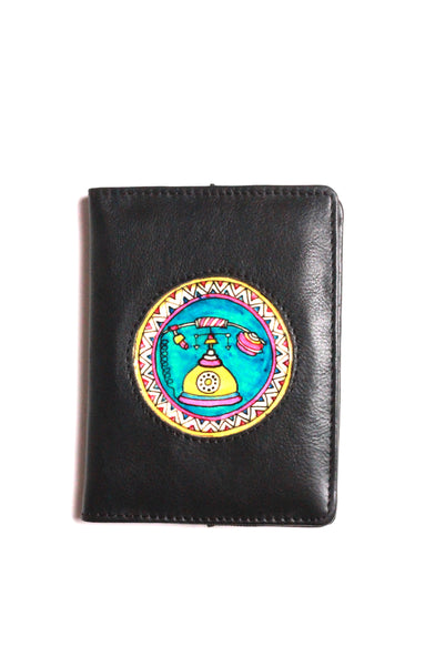 PASSPORT COVER/VINTAGE PHONE