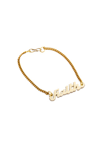 Women's Bracelet Golden fine cut self name Bracelet - LoveThisStuff.com