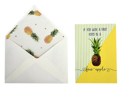 Greeting Card 'Fine-Apple' Love Card - LoveThisStuff.com