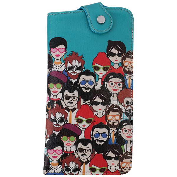 Many People Sunglass Cover