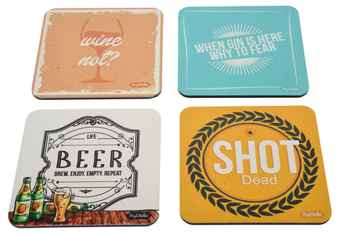 Coaster Alcohol Theme Coasters - LoveThisStuff.com